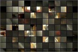 Ungeordnetes Puzzle