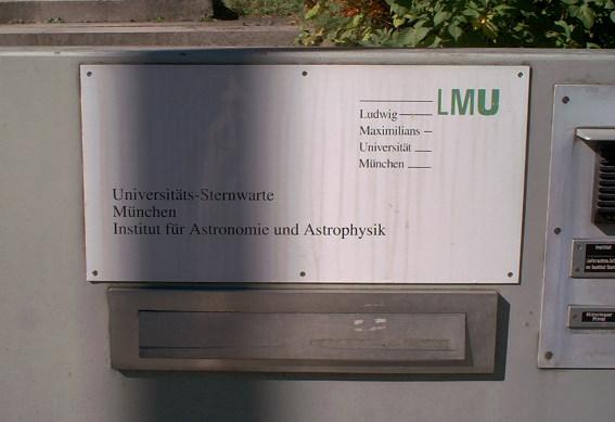 Universitätssternwarte München